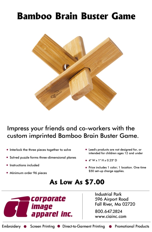 Check out our weekly product spotlight: The Bamboo Brain Buster!