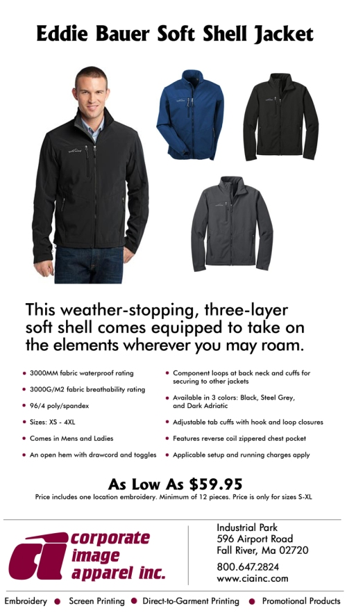 Product Spotlight: Eddie Bauer Soft Shell Jacket