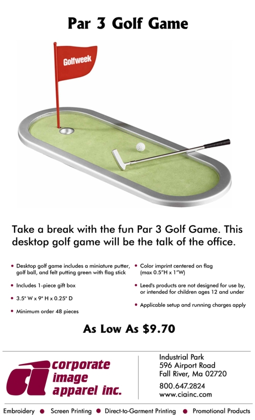 Product Spotlight: Par 3 Golf Game