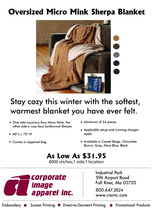 Product Spotlight: Micro Mink Sherpa Blanket