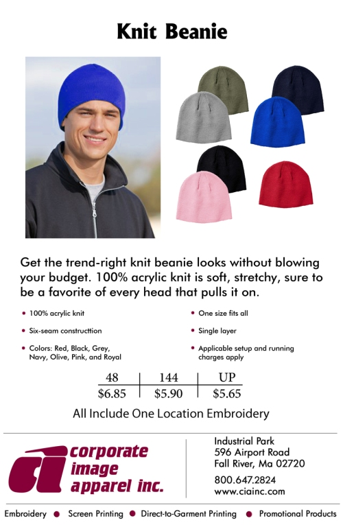 Product Spotlight: Knit Beanie