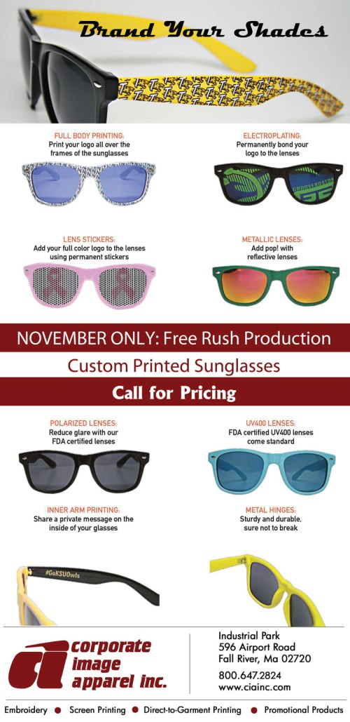 Brand Your Shades!