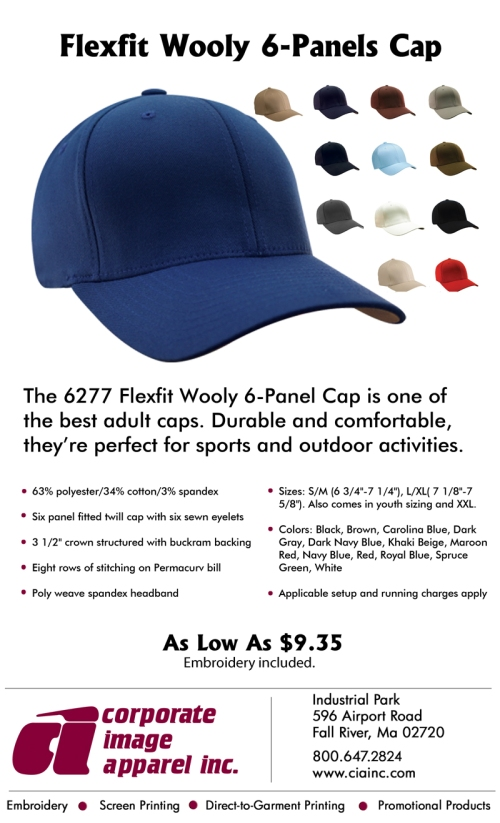 Product Spotlight: Flexfit Wooly 6-Panels Cap