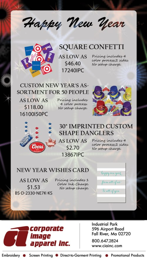 Bring in the New Year with a Bang!
