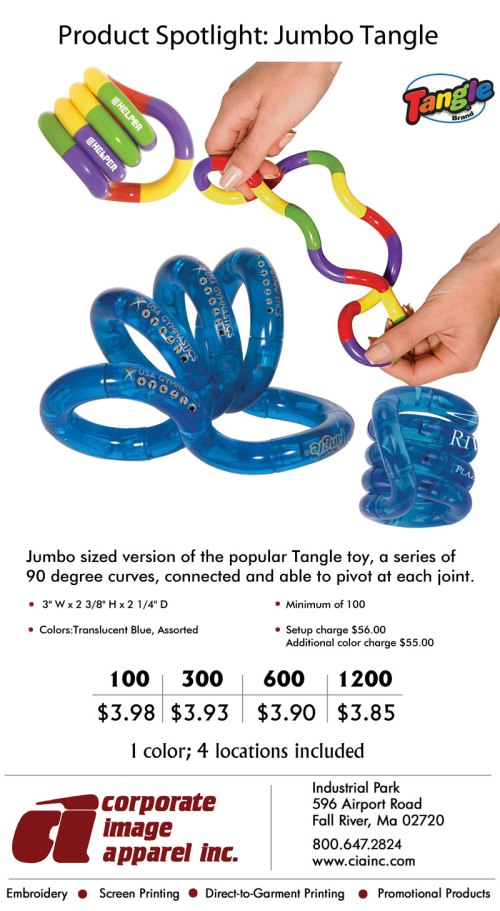 Product Spotlight: Jumbo Tangle