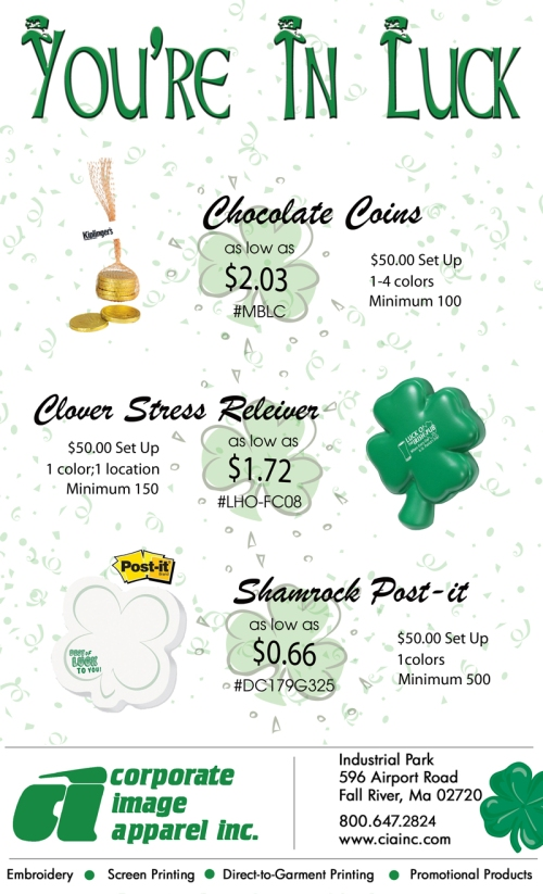 Are you ready for Saint Patrick's Day?