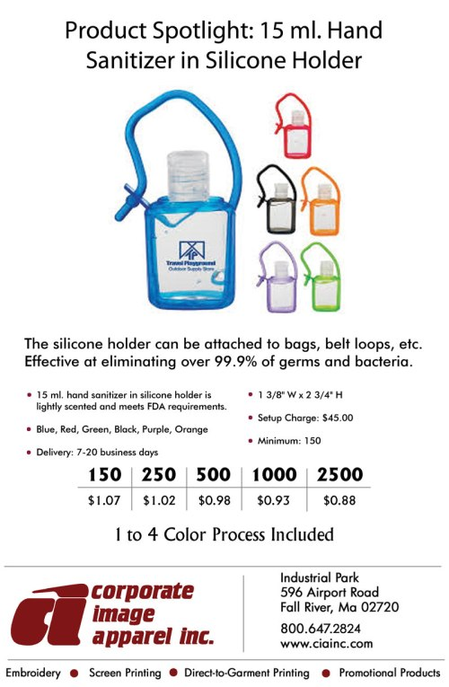 Product Spotlight: Hand Sanitizer