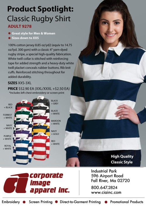 Product Spotlight: Classic Rugby Shirt