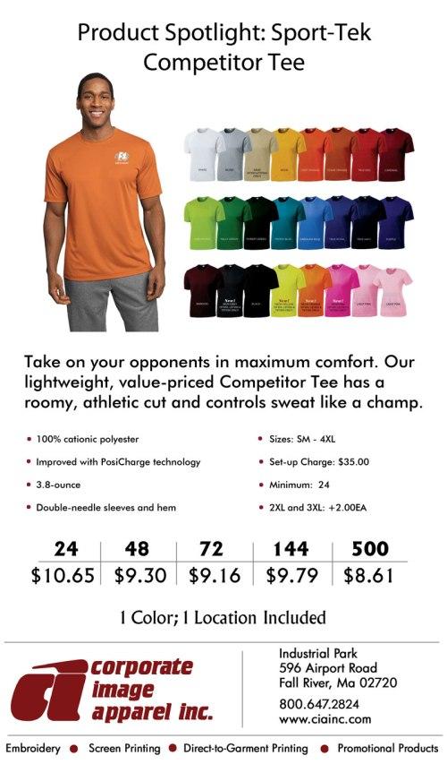 Product Spotlight: Sport-Tek Competitor Tee